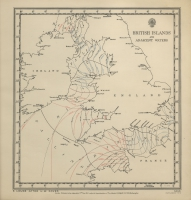 Atlas of tides and tidal streams - British Islands and adjacent waters. 6 hours after H.W. Dover