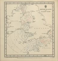 Atlas of tides and tidal streams - British Islands and adjacent waters. 2 hours after H.W. Dover
