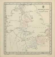 Atlas of tides and tidal streams - British Islands and adjacent waters. H.W. Dover