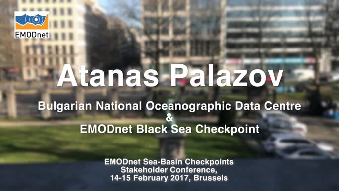 Atanas Palazov, BGODC, on the outcomes of the EMODnet Black Sea Checkpoint