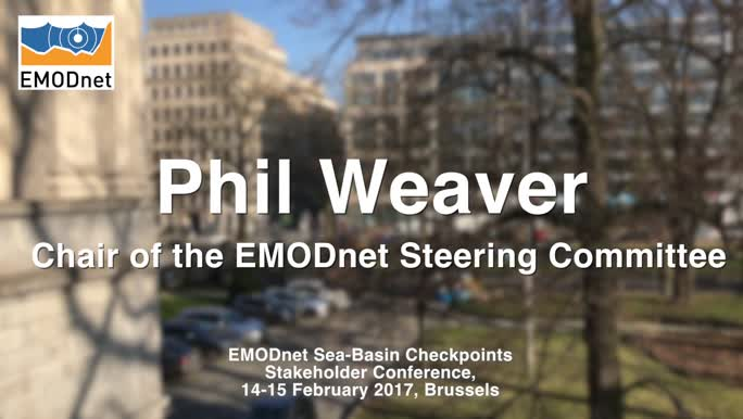 Phil Weaver, Chair of the EMODnet Steering Committee, on the EMODnet Phase III priorities