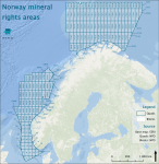 Norway mineral rights areas