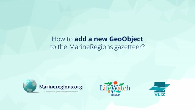 How to add a new GeoObject to the MarineRegions gazetteer?