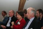 Van rechts naar links: Stanislas Wartel, Micky Tackx  en Frank Dehairs