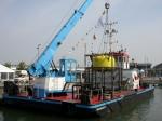 Mosselboot & mosselkooi