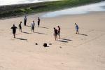 Petanque op het strand