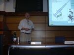 Picture of presentation by Dubelaar