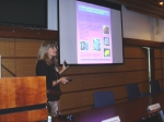 Picture of presentation by Ianora