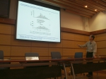 Picture of presentation by Li
