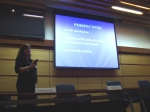 Picture of presentation by Casotti
