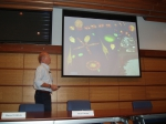 Picture of presentation by Veldhuis