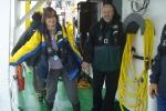 Bestuur Vereniging leraars Wetenschappen (VELEWE) mee op tocht met de Zeeleeuw voor een educatieve tocht (23.08.2010): de zee wordt wilder. [cruise info]