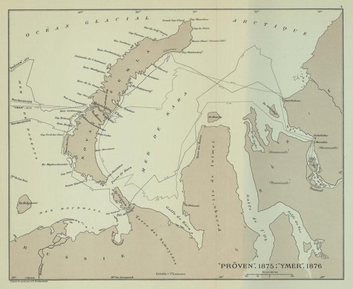 Duc d'Orléans (1909, kaart 2)