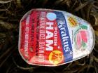 Poolse ham aangespoeld
