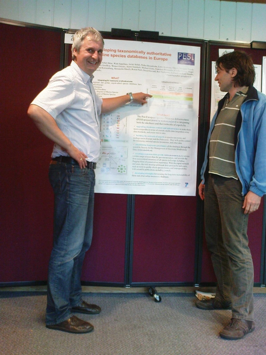 Anton Güntsch and Andreas Müller at TDWG 2010