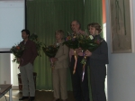 Presentations at end of Launch Symposium