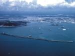 Plymouth Sound, City and Tamar estuary.