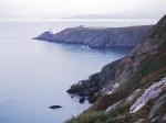 Dublin Bay looking across the lighthouse on Howth Head