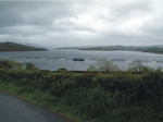 Mulroy Bay is sheltered with areas of strong tidal streams and is suitable for salmon farming.