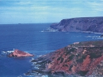Rocky shores of the Costa Vicentina.