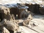 A heavy  storm hits the Bulgarian Coast