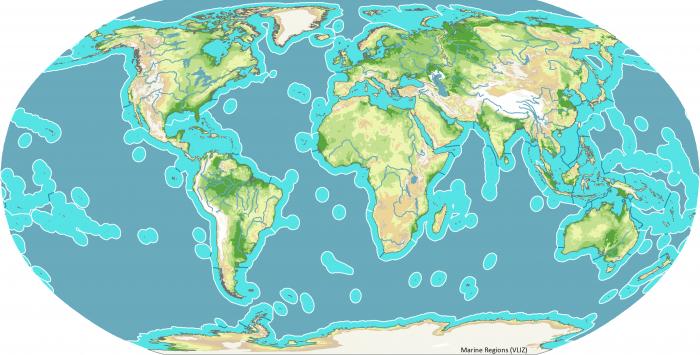 Marine Ecoregions of the World, MEOW