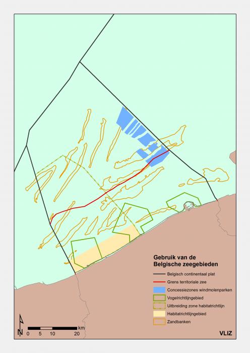 Use of the Belgian marine areas