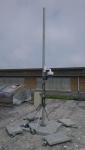 Camera mast te Oostende